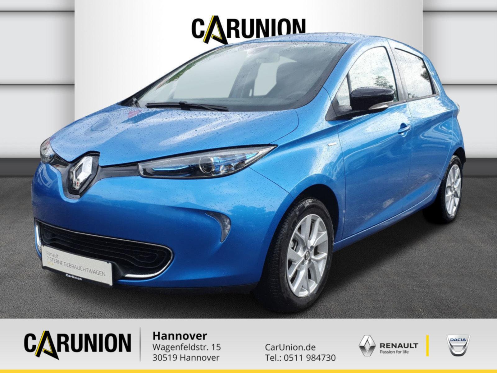 Renault ZOE LIFE mit Limited-Pak. Batteriemie 41 KW, Jahr 2019, Elektro