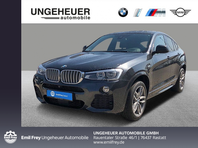 BMW X4 xDrive35i M Sportpaket Head-Up LED WLAN RFK, Jahr 2016, Benzin