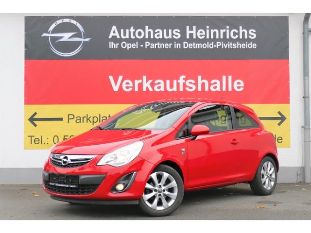 Opel Corsa D 70 PS 150 Jahre Sitz-Lenkradhzg./Alufelgen/Klima/Tempomat/Winterpaket, Jahr 2012, Benzin