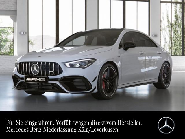Mercedes-Benz CLA 45 S 4MATIC Coupé Sportpaket Navi LED Klima, Jahr 2021, Benzin