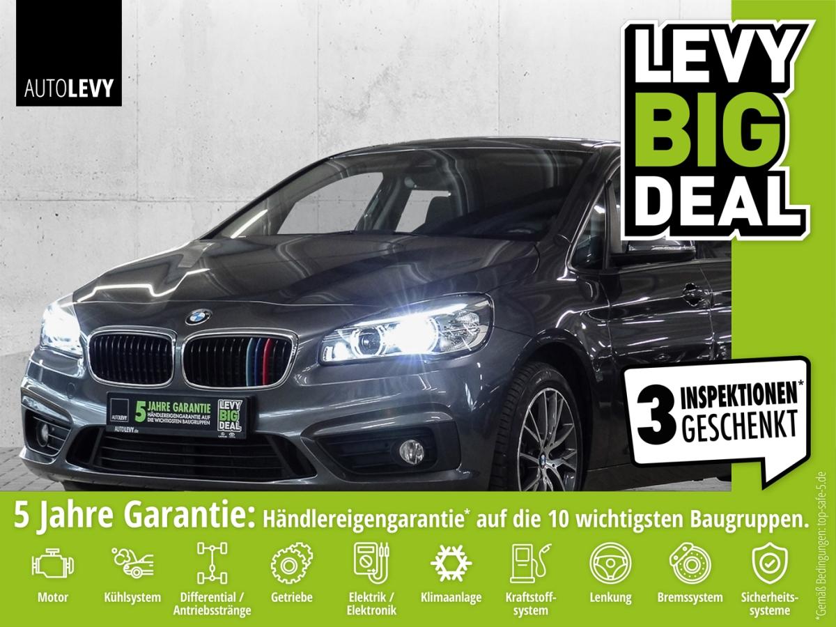 BMW 218d Active Tourer Advantage NAVI*SHZ*8-FACH*LED, Jahr 2015, Diesel