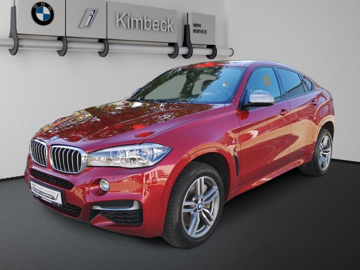 BMW X6 M50d M SPORT Headup Panorama ACC Komfortsitze, Jahr 2017, Diesel