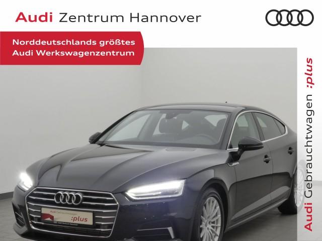 Audi A5 Sportback sport 40 TFSI Leder, Navi, DAB, Komfortschlüssel, Jahr 2019, Benzin