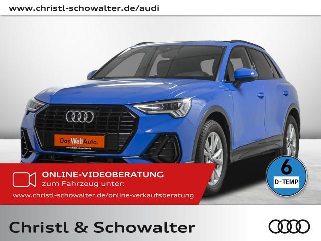 Audi Q3 S line design 35TFSI AHK LED Navi Bluetooth, Jahr 2020, Benzin