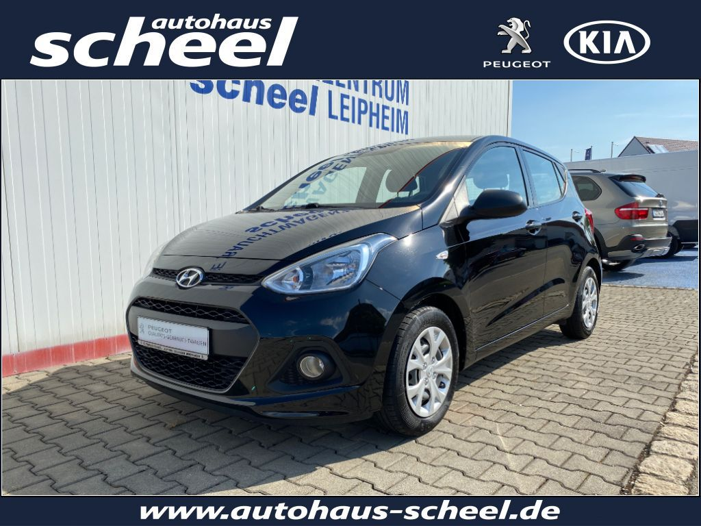 Hyundai i10 1.0*KLIMAANALGE*uvm., Jahr 2014, Benzin