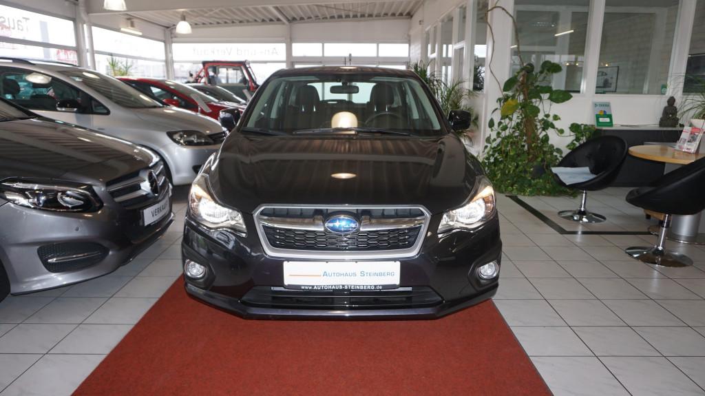 Subaru Impreza 1.6i AUTOMATIK+XENON+SHZ+RÜCKFAHRKAMERA+ALLRAD, Jahr 2014, petrol