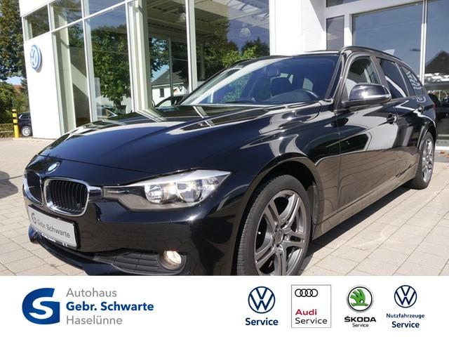 "BMW 316i Touring Shzg PDC LM 17"" Klimaautomatik, Jahr 2014, petrol"