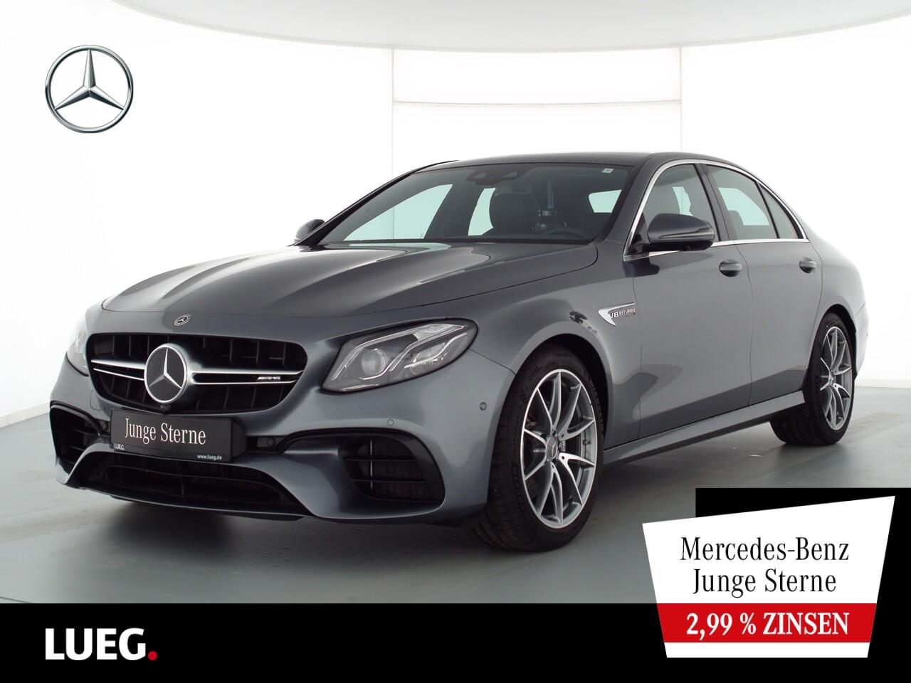 Mercedes-Benz E 63 AMG 4M+ COM+Pano+Mbeam+DistrPl+Widescr+360°, Jahr 2020, Benzin
