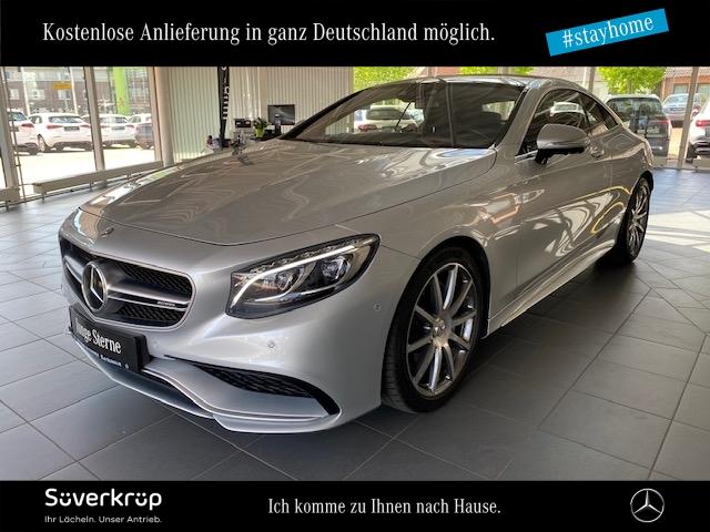 Mercedes-Benz S 63 AMG 4M Coupé Sitzklima/Drivers P./Burmester, Jahr 2016, Benzin