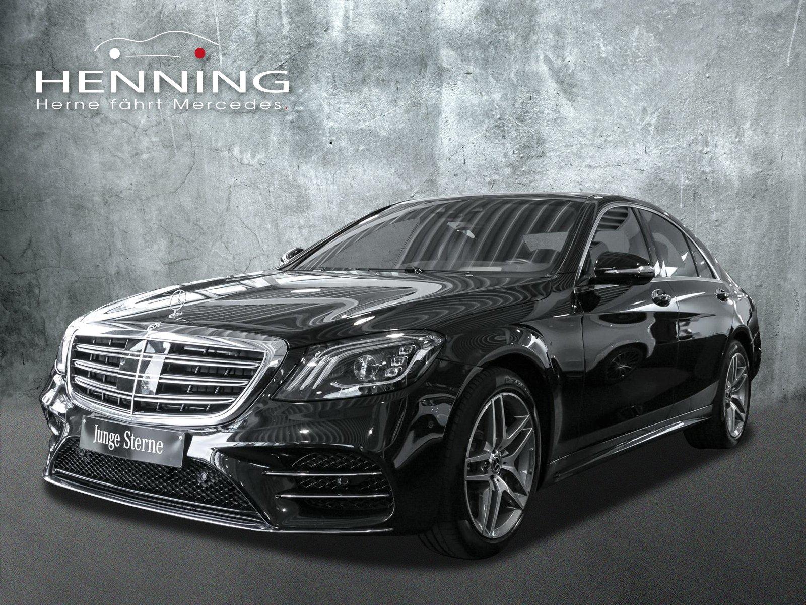 Mercedes-Benz S 400 d 4MATIC 9G Head-Up Pano Multibeam Memory, Jahr 2019, Diesel