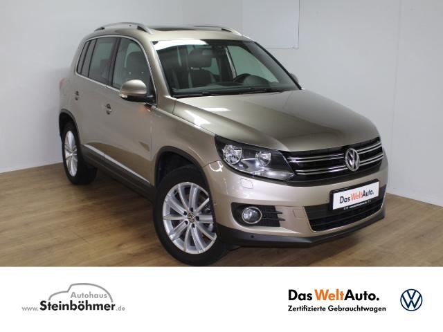 Volkswagen Tiguan Life 1.4TSI Navi AHK Panorama Sitzhzg GRA, Jahr 2013, Benzin
