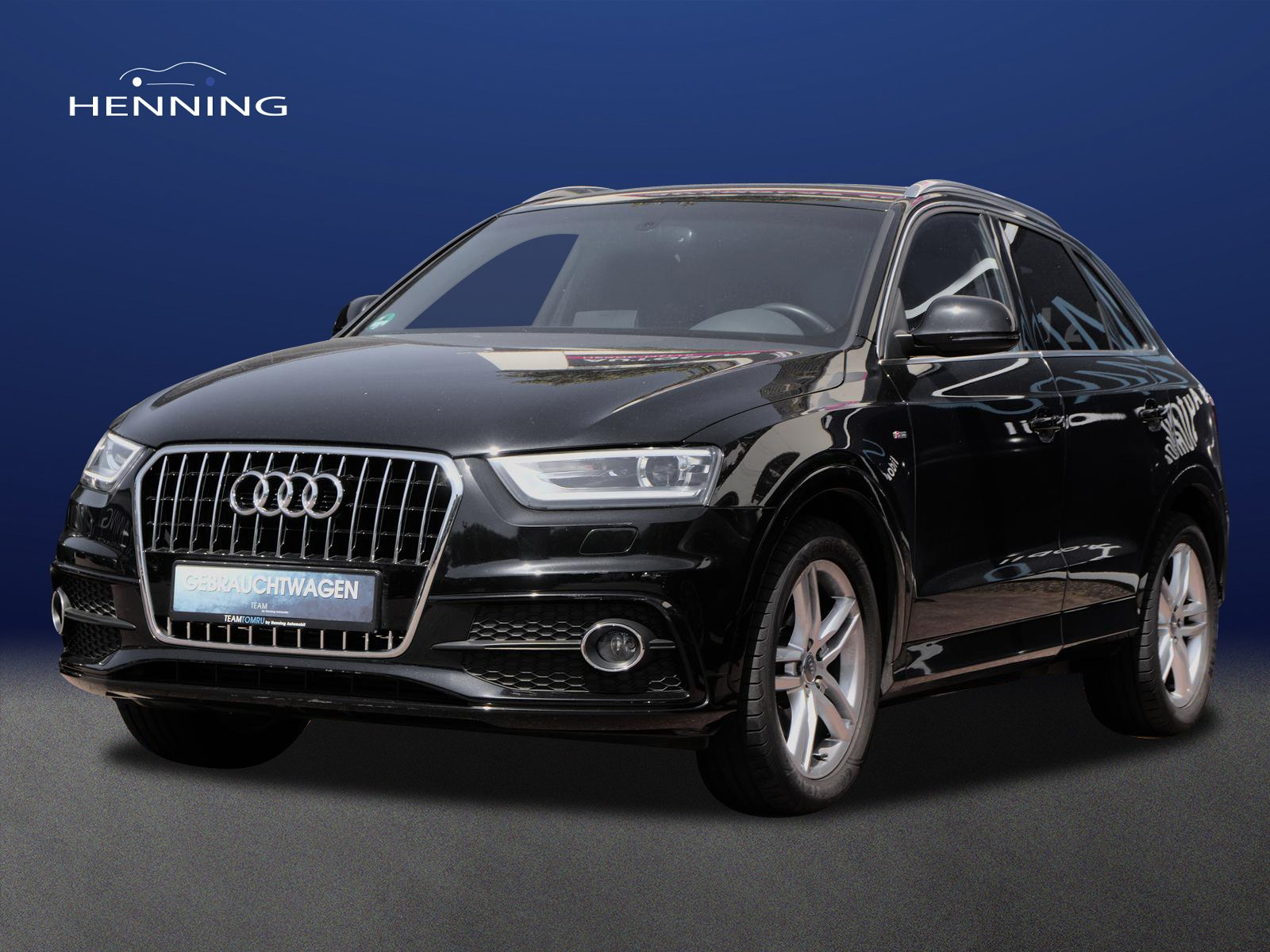 Audi Q3 2.0 TFSI quattro*S-line*DSG*Xenon*Navi*, Jahr 2013, Benzin