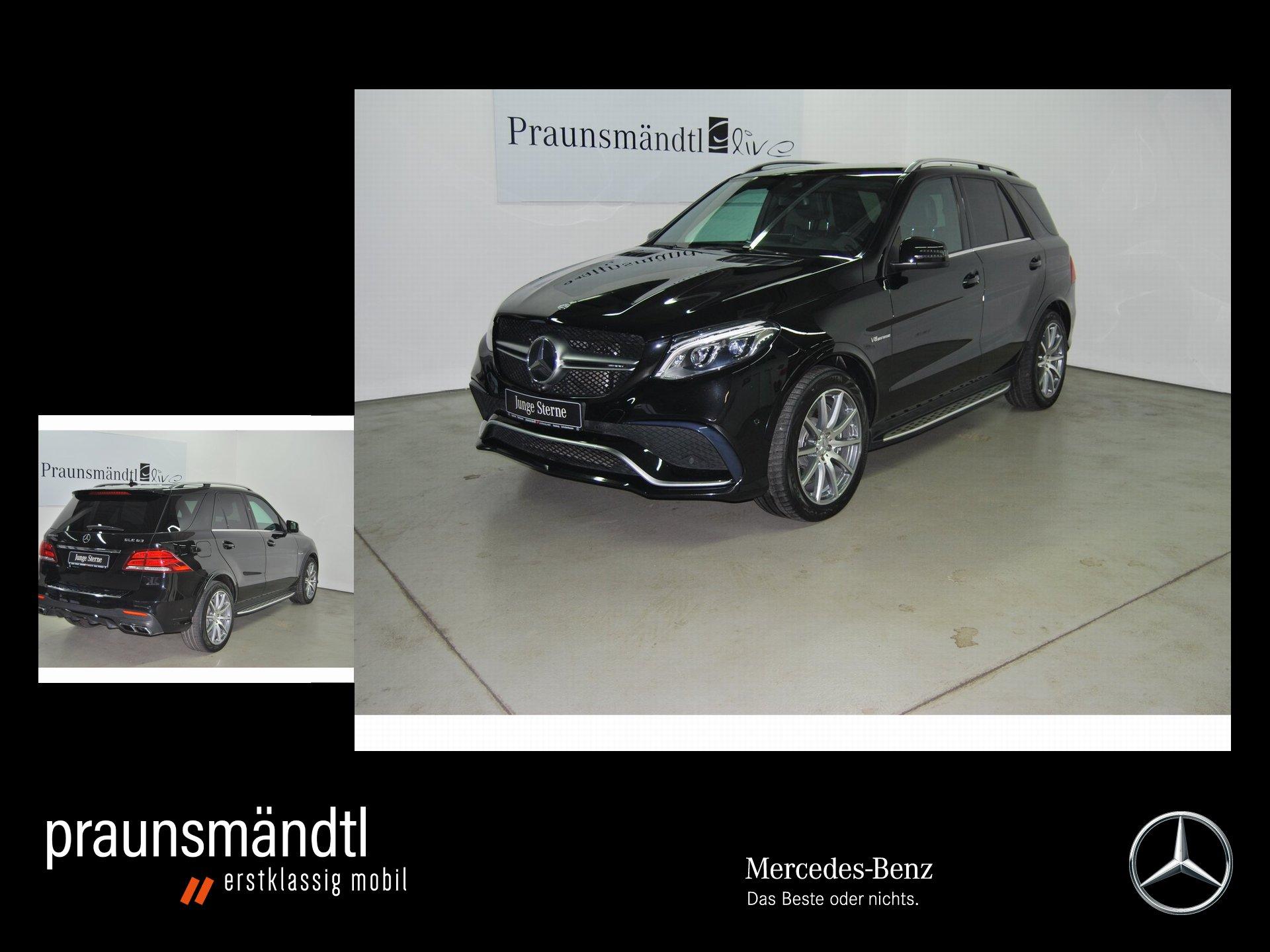 Mercedes-Benz GLE 63 AMG AIRMA/AHK/Com/360°/SHZFond/PerforAbga, Jahr 2015, Benzin