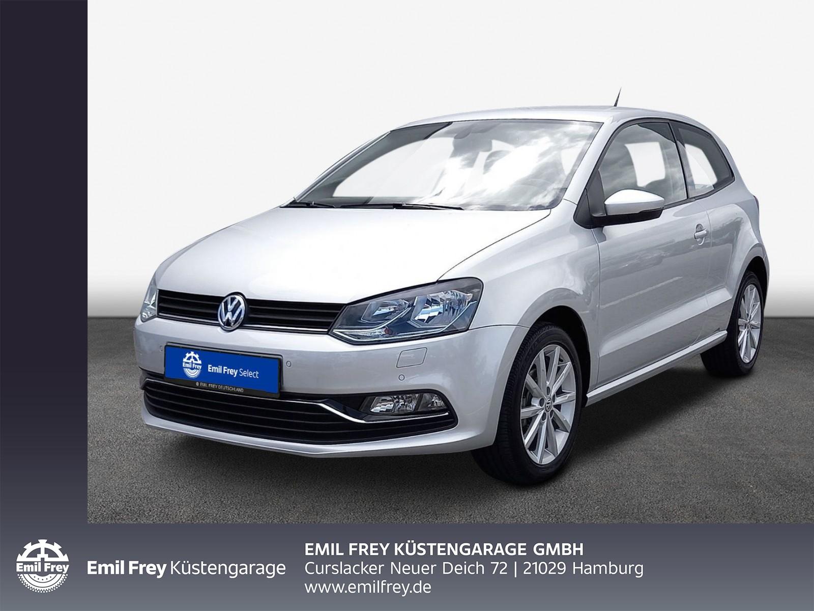 Volkswagen Polo 1.2 TSI Highline, Klima, Navi, PDC, SHZ, Jahr 2017, Benzin