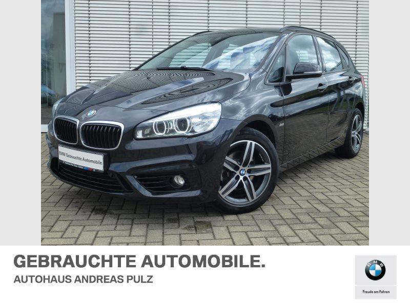 BMW 218d Sport,Anhängerkuppl.,Kamera, HiFi LED Navi, Jahr 2017, Diesel