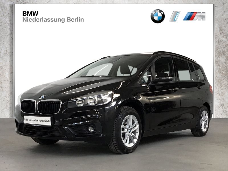 BMW 216 Gran Tourer i EU6 Navi Sitzheiz Parkassistent, Jahr 2017, Benzin