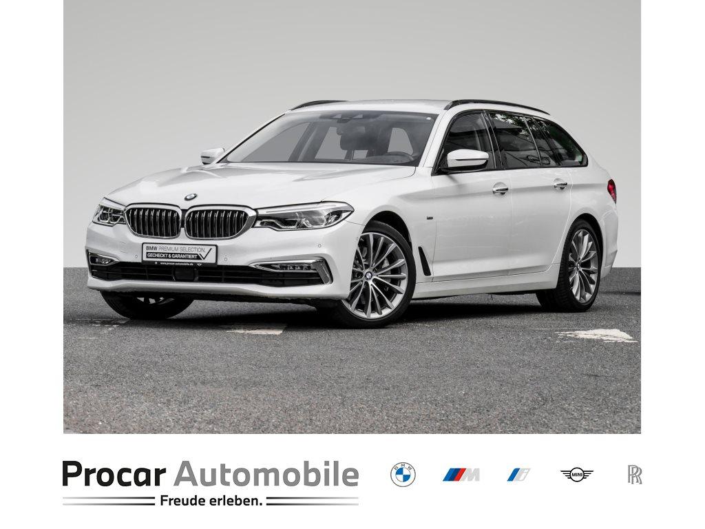 BMW 530d LUXURYLINE+HUD+H/K+DAB+ADAP. LED+INNOVATIONSPAK., Jahr 2018, Diesel