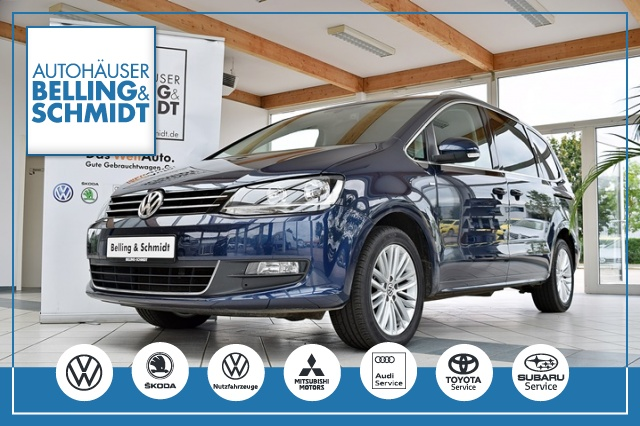 Volkswagen Sharan 1.4TSI Cup Navi AHK Standhzg.Climatr., Jahr 2014, Benzin