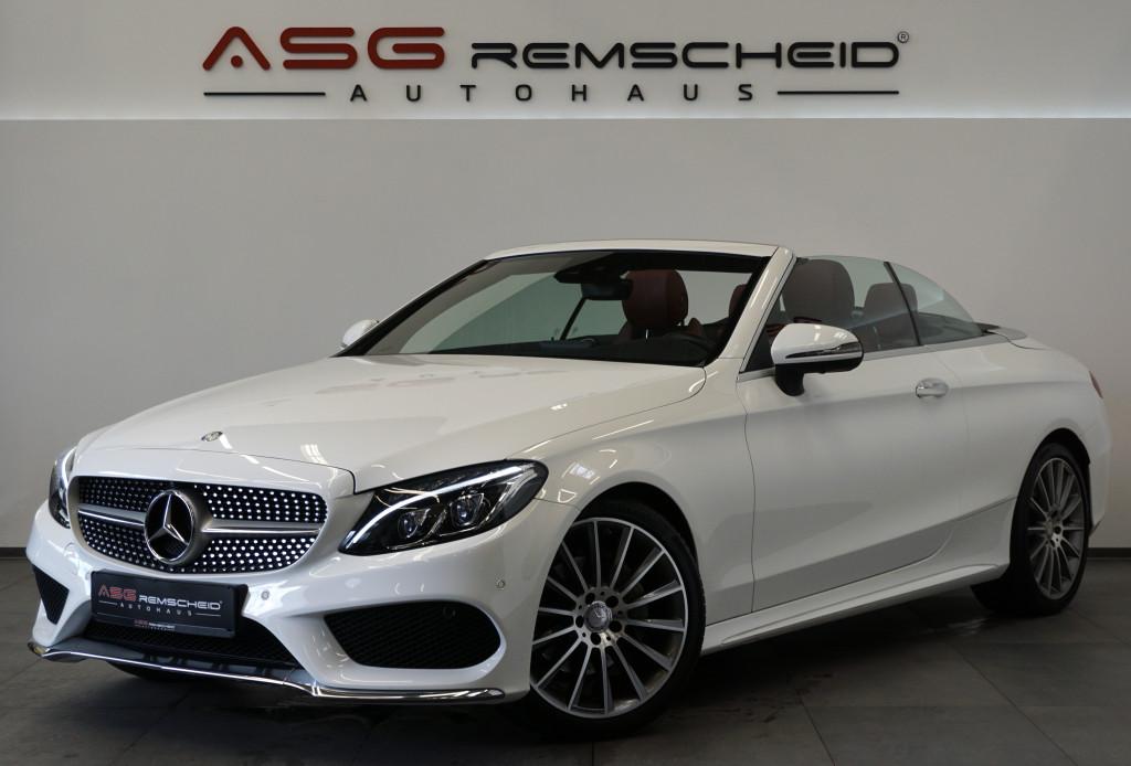 Mercedes-Benz C 220 d Cabrio 9G-Tr. 4M *AMG Line *LED *AirCap*, Jahr 2017, Diesel