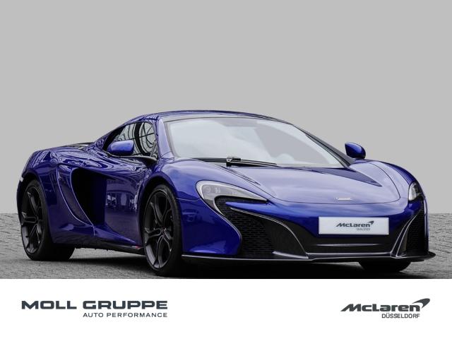 McLaren 650S Spider Aurora Blue, Sport Exhaust, Lifting, Jahr 2015, Benzin