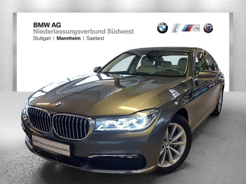 BMW 730d Limousine Gestiksteuerung Head-Up HiFi RFK, Jahr 2017, Diesel
