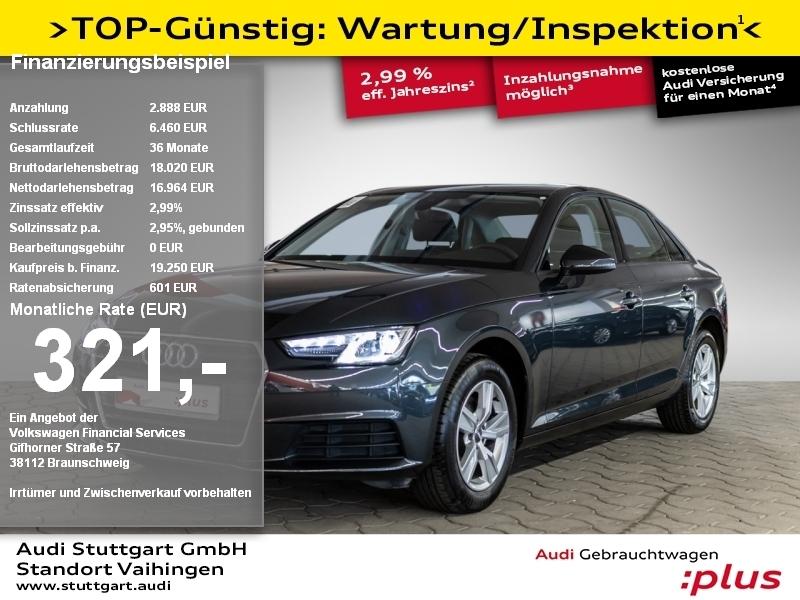 Audi A4 Limousine 1.4 TFSI Navi Xenon Sitzheizung, Jahr 2017, Benzin