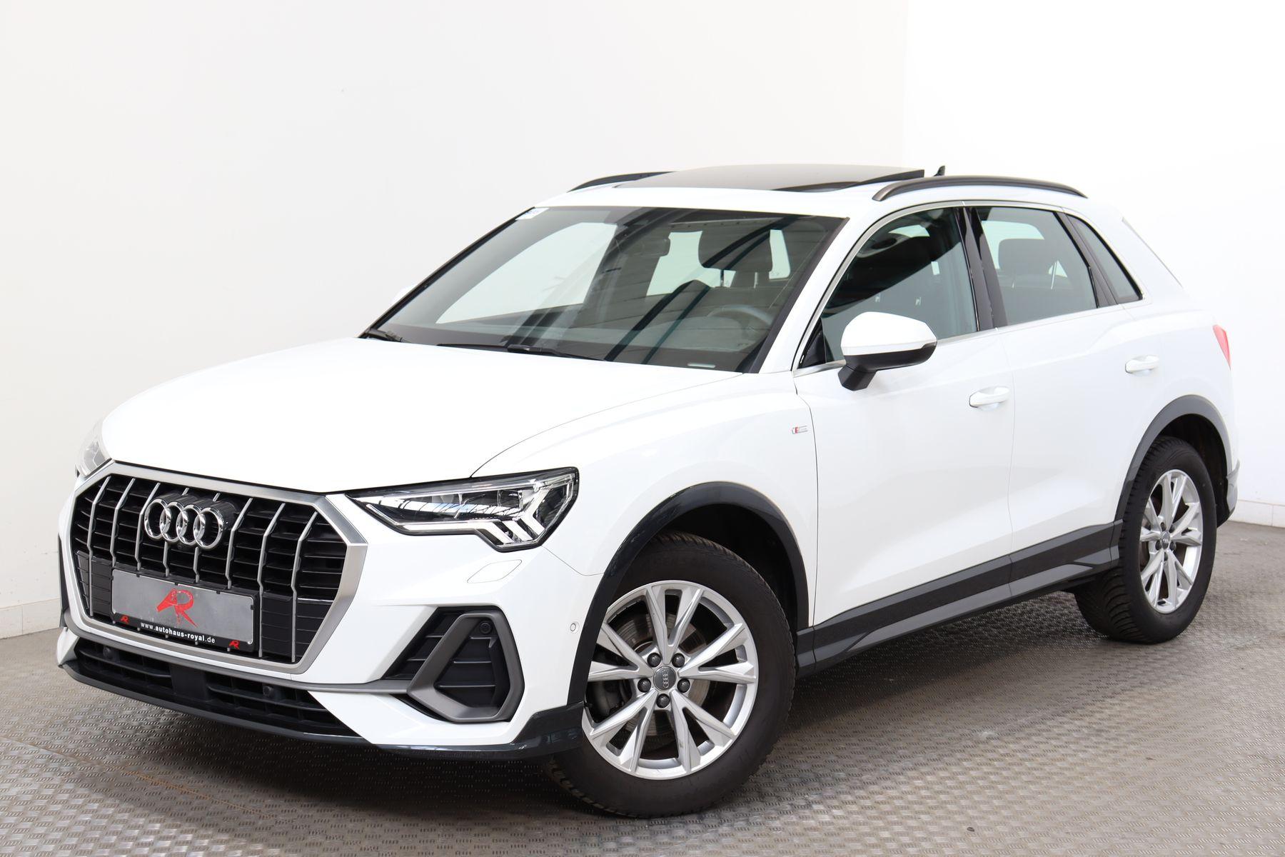 Audi Q3 35 TFSI S LINE LED,KEYLESS,ACC,STANDHEIZUNG, Jahr 2019, Benzin