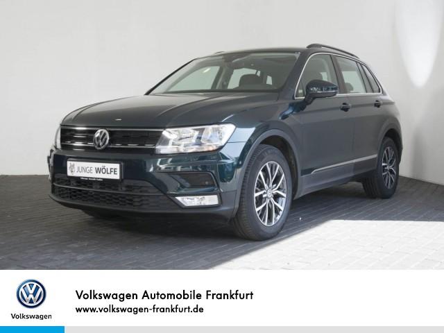 Volkswagen Tiguan 1.4 TSI DSG Comfortline Navi AreaView FrontAssist LaneAssist Tiguan 1.4actCLBMTFR 110TSID6F, Jahr 2016, Benzin