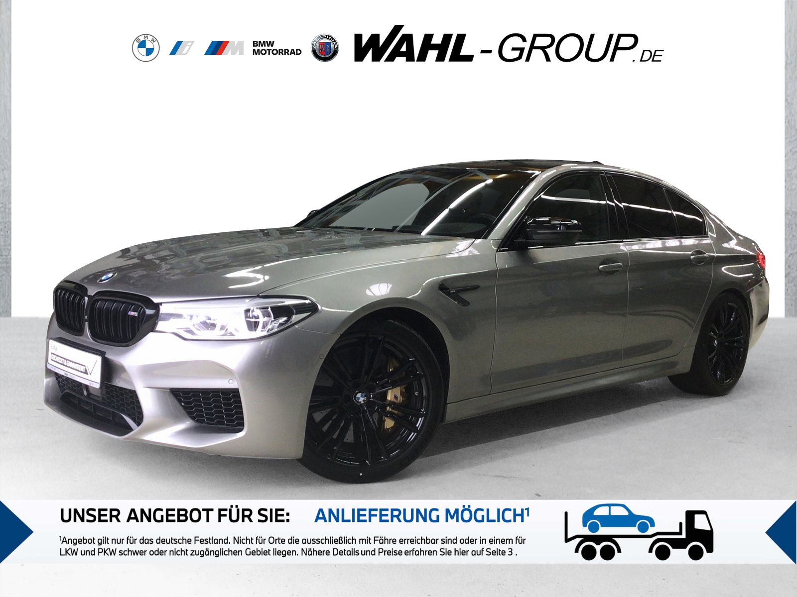 BMW M5 Limousine B&W Surround M Drivers P. DAB LED, Jahr 2019, Benzin