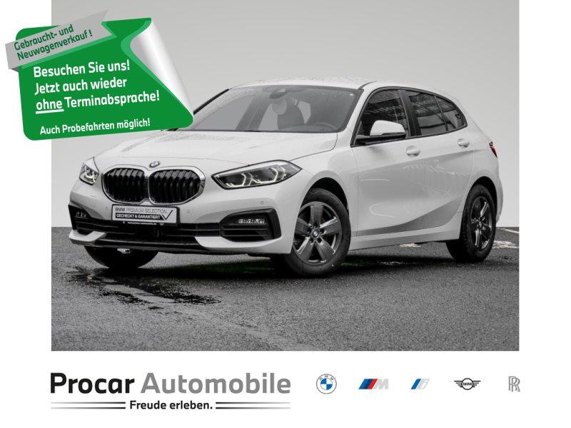 BMW 118i LIVE-COCKPIT-PLUS+LED+SHZ+LED+TEMPOMAT+ALU+, Jahr 2020, Benzin