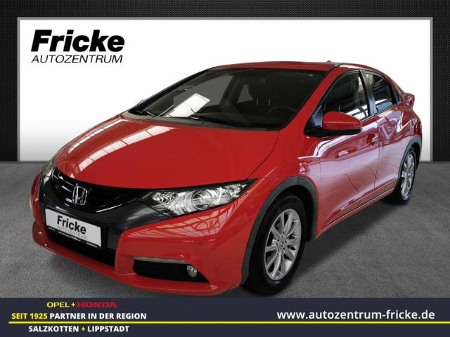 Honda Civic 1.8 Lifestyle Sport PDC v+h/Klimaauto./Tempomat, Jahr 2014, Benzin