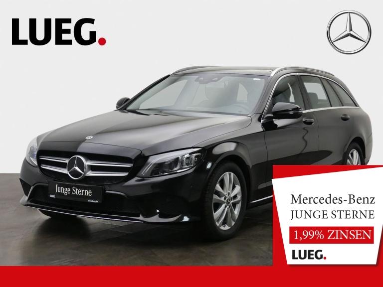 Mercedes-Benz C 180 T Avantgarde+Navi+Pano+Mbeam+AHK+SpurP+RFK, Jahr 2019, Benzin