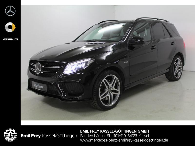 Mercedes-Benz GLE 43 AMG 4M+Night+PANO+Distro+Stndhz+AHK+Memo, Jahr 2017, Benzin
