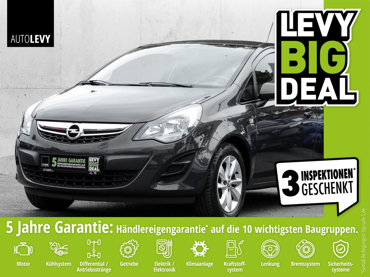 Opel Corsa 1.2 16V Energy KLIMA*LM*TEMPOMAT*CD/MP3*, Jahr 2014, Benzin