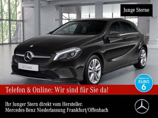 Mercedes-Benz A 180 Urban LED Kamera Navi Klimaautom PTS Sitzh, Jahr 2017, Benzin