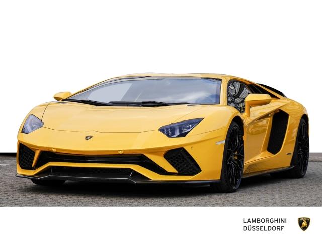 Lamborghini Aventador S, Giallo Orion, Full Carbon Package, Jahr 2018, Benzin