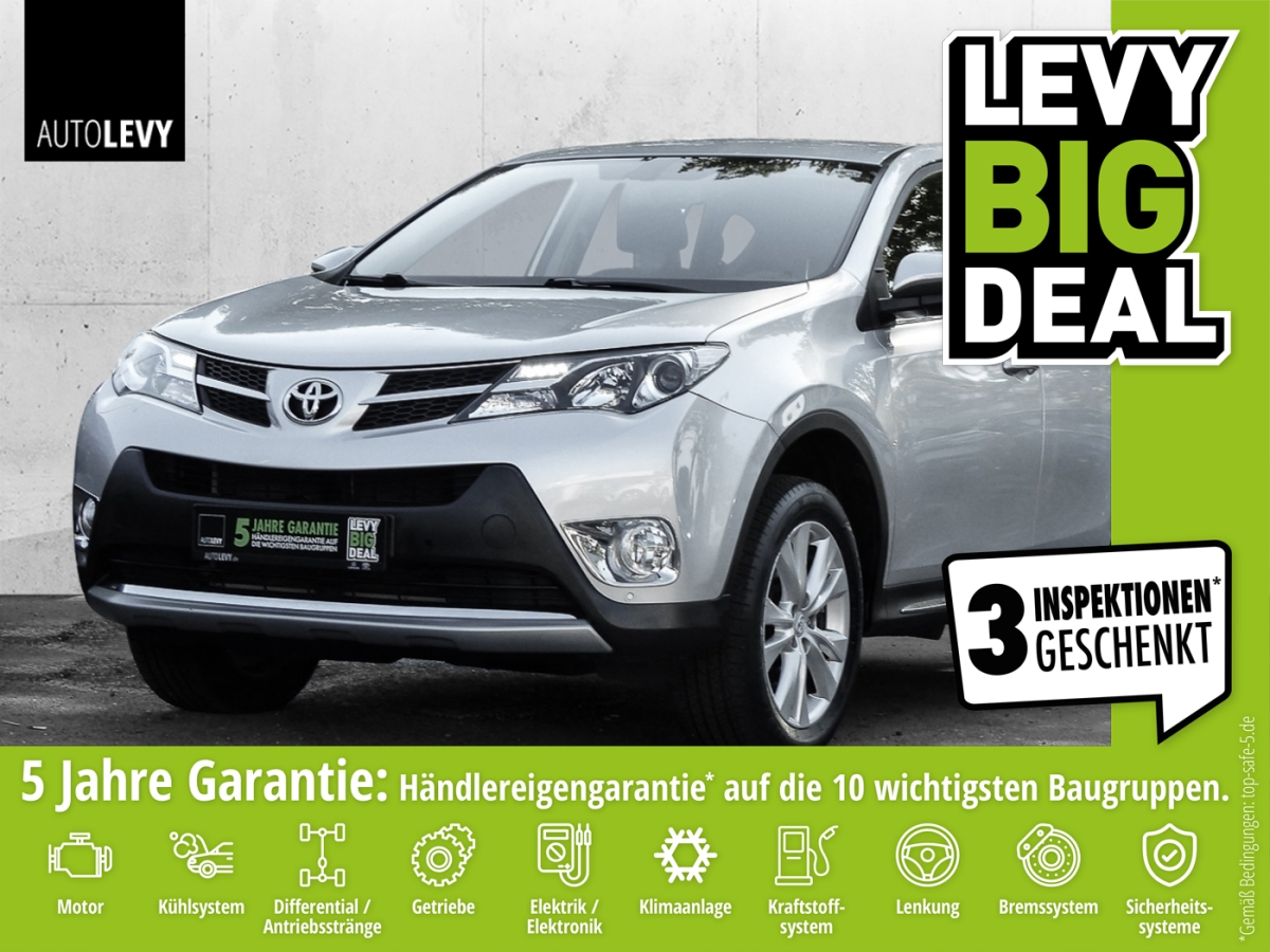 Toyota RAV 4 2.0 4x4 START EDITION *KLIMAAUTOMATIK*, Jahr 2013, Benzin