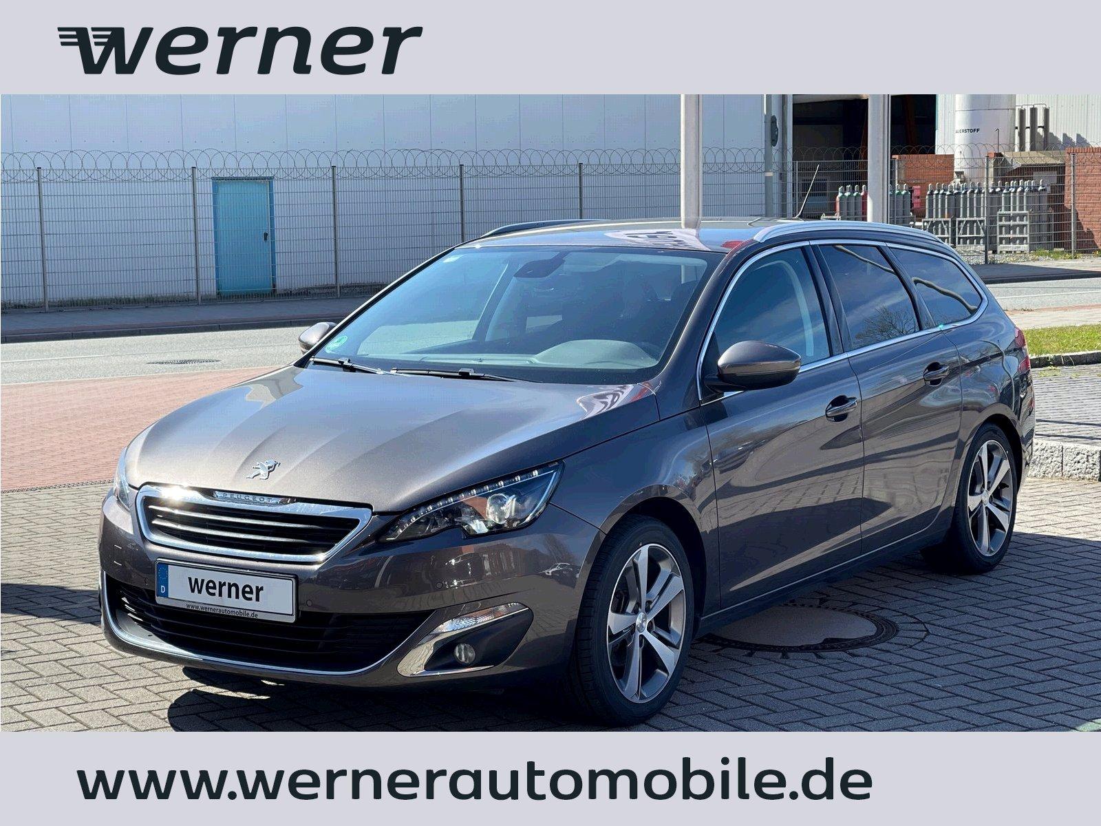 Peugeot 308 1.2 e-THP SW Allure ~Klima~Servo~PDC~Navi, Jahr 2014, Benzin