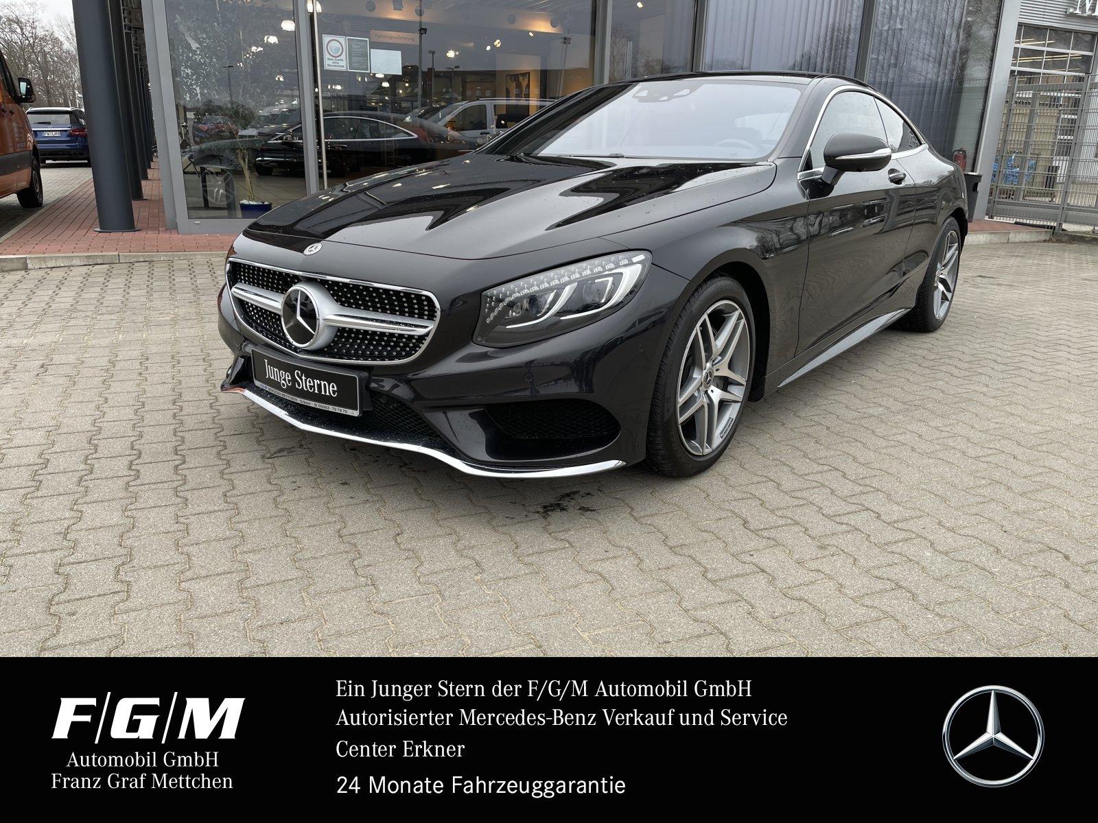 Mercedes-Benz S 400 4M AMG/PanoD/KeyG/360°/Mem/Burm/Sitzklima, Jahr 2017, Benzin