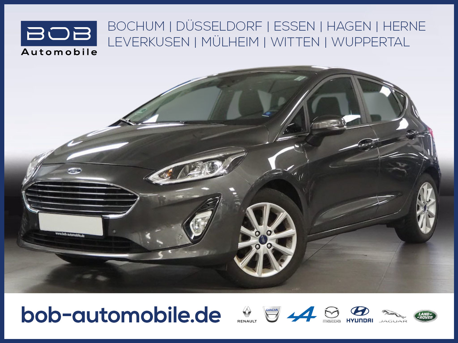 Ford Fiesta Titanium Kamera Carplay, Android Auto SHZ, Jahr 2018, Benzin