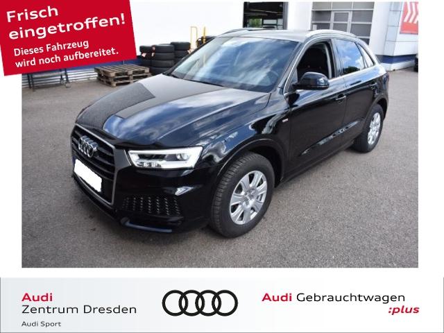 Audi Q3 sport 1.4 TFSI S-line LED-SW Navi, Jahr 2018, Benzin