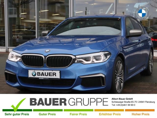 BMW M550 d xDrive LED Navi Std-HZG Massagesitze DA Prof Harman/Kardon Leder StandHZG Keyless, Jahr 2017, Diesel