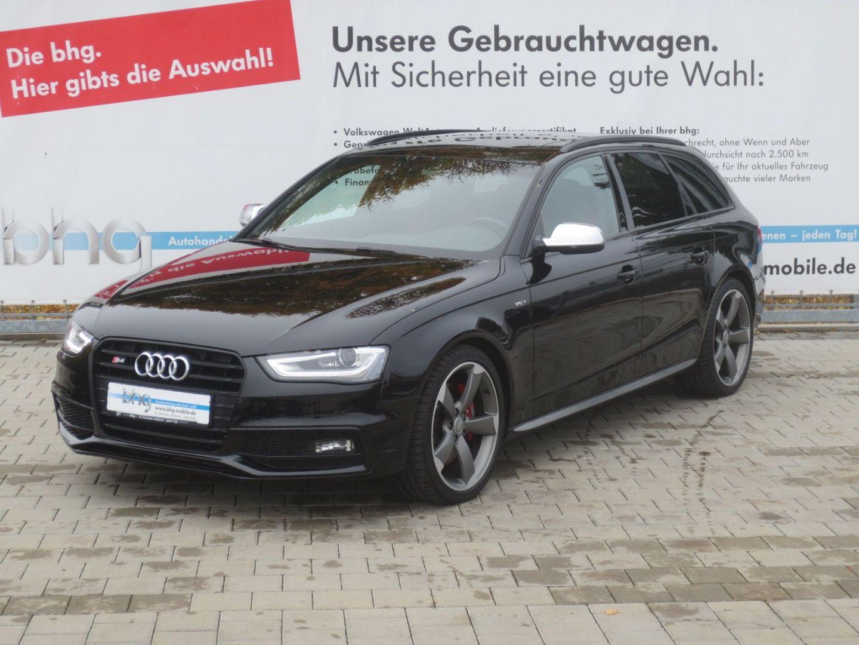 "Audi S4 Avant s tronic 19"" B&O Pano Leder Bluetooth S, Jahr 2015, petrol"