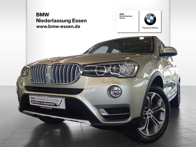 BMW X3 xDrive20i xLine, Jahr 2017, Benzin