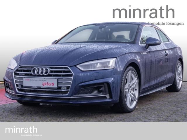 Audi A5 Coupe quattro sport 3.0 TDI S line Matrix LED Leder Navi Keyless Kurvenlicht e-Sitze, Jahr 2017, Diesel