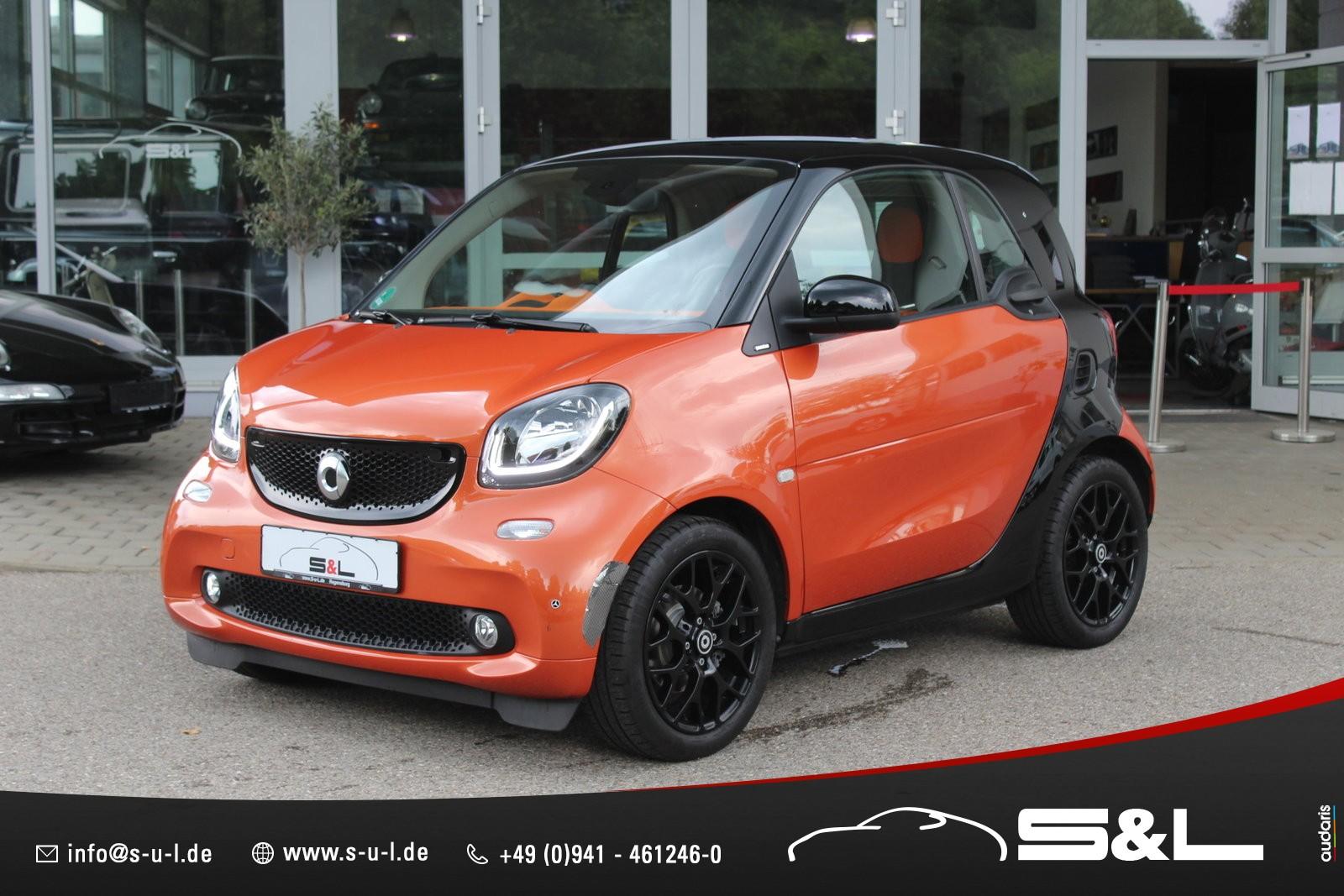 smart ForTwo coupe Komfort/ Cool & Media/ Klima/ Pano, Jahr 2014, Benzin