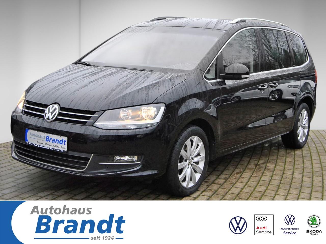 Volkswagen Sharan 1.4 TSI Highline NAVI*KAMERA*7-SITZER*ALCANTARA*AHK, Jahr 2016, Benzin
