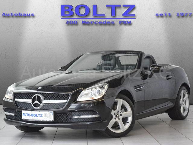 Mercedes-Benz SLK 200 Navi Parktronic Leder AIRSCARF Sitzh., Jahr 2012, petrol