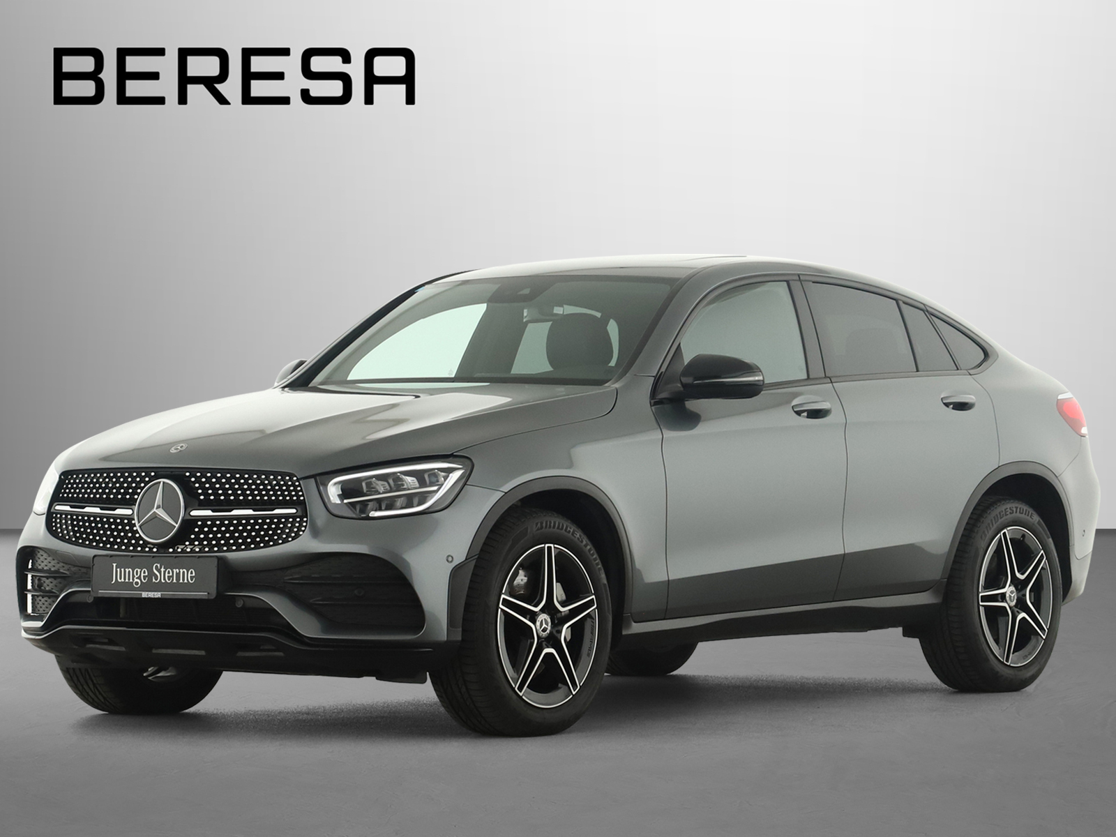 Mercedes-Benz GLC 400 d 4M Coupé AMG Spur AHK Kamera MBUX SHD, Jahr 2019, Diesel
