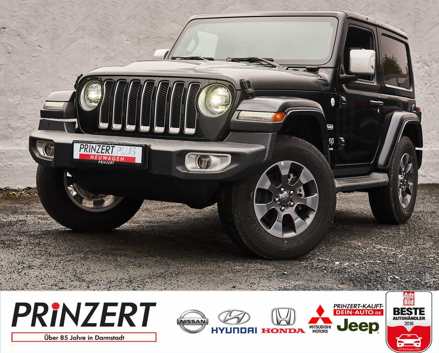 Jeep Wrangler 2.2 CRDi 4WD JL 'Sahara' Overland LED, Jahr 2019, Diesel